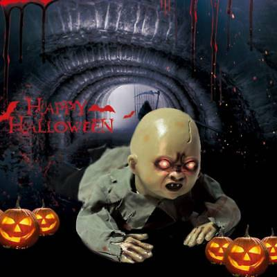 HALLOWEEN CRAWLING BABY Zombie Props Animated Horror Haunted House
