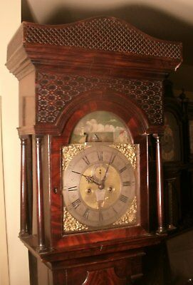 "Antique Mahogany Automation Ship "" Dover  ""  Longcase / Grandfather Clock"