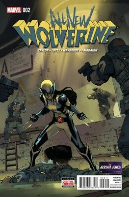 All New Wolverine (2015) #   2 (9.0-VFNM)