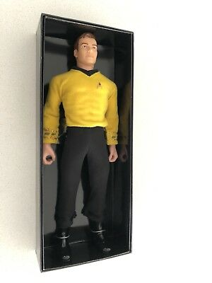 New Mint Vintage Retro Star Trek Captain James T Kirk Figure Doll Never Opened