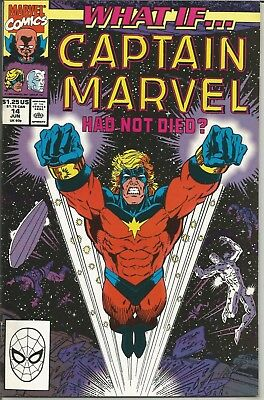 WHAT IF... CAPTAIN MARVEL Had Not Died? - No. 15 (June 1990)