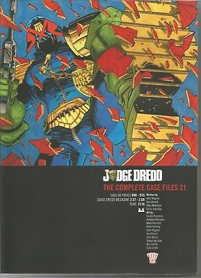 JUDGE DREDD: The Complete Case Files No. 21 (2013) First Edition Trade Paperback