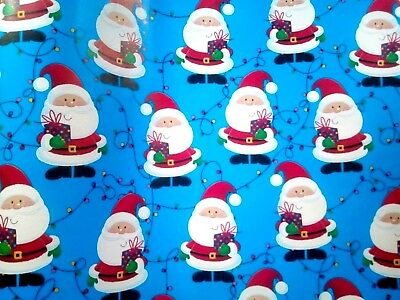 four sheets of santa wrapping paper cheap christmas giftwrap cheap