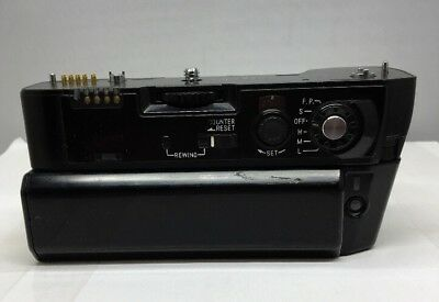 Minolta Motor Drive MD-90 w/ BP-90M Battery Pack From Japan