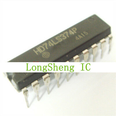 QTY-18 NATIONAL DM74AS374N Octal D-Type Flip-Flop W//3-State Outputs DIP-20 IC