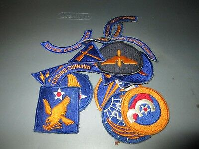 17 Different World War II US ARMY AIR FORCE Patches