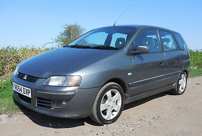 Mitsubishi Space Star Equippe 5 Door Hatchback 1.6 petrol manual 2004
