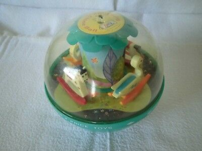 Fisher Price Vintage Roly Poly Chime Ball