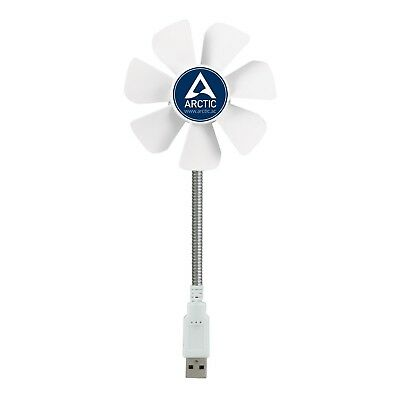 ARCTIC Breeze Mobile - Mini USB Desktop Fan with Flexible Neck Portable Desk Fan
