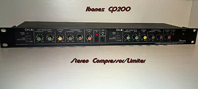 Ibanez Stereo Compressor/Limiter CP200