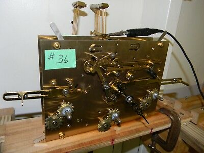 Kieninger Triple Chime Grandfather Clock Movement (cable/overhauled)