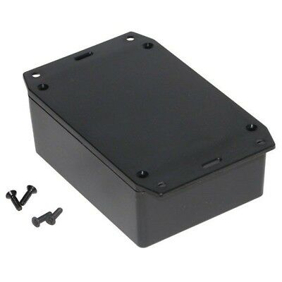 Hammond 1591XXSFLBK FRABS Enclosure Flanged Lid 110 x 82 x 43mm Black