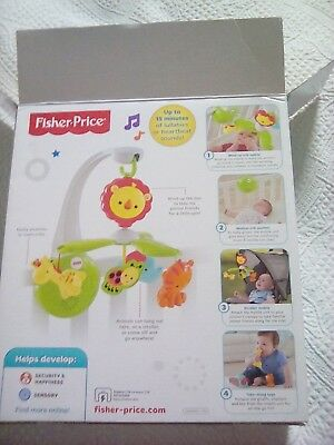 fisher price grow with me cot and travel mobile