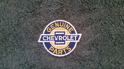 Vintage Chevrolet Genuine Parts Patch: Racing, Collectible Patch NOS