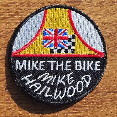 Motard Cafe Racer Oscillant Ton Up Oim Tt Tissu Patch Badge Mike Hailwood