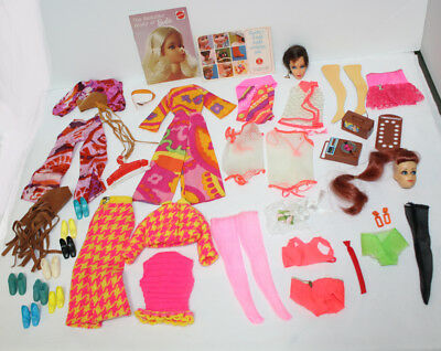 Lot of Vintage Barbie Accessories Mod Good to Excellent condition over 50 pieces