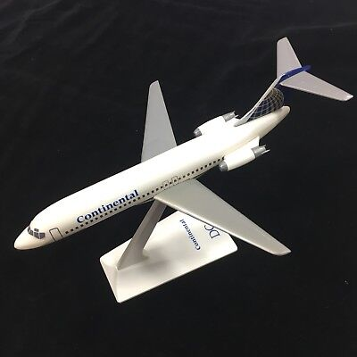Vtg Continental Airlines DC-9 Airplane Desk Display Model Pilot Collectible