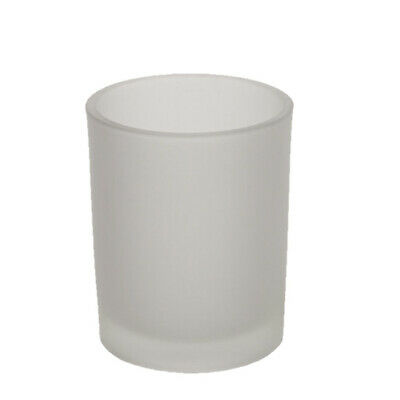 Votive Jar x12 (Frosted) for Votive Candles | Glassware | Jar | Container