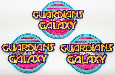 """Guardians of the Galaxy 2.5"""" Mini-Patches-Set of 3 - Mailed from USA (GGPA-MP01)"""
