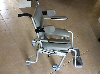 NUPRODX shower Chair Commode Aluminum  Adult/pediatric Tilting Special Needs
