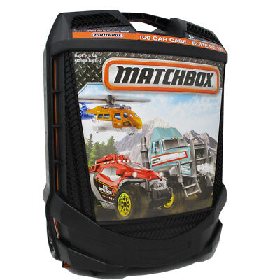 Matchbox Rolling Car Case - Holds 100 Cars
