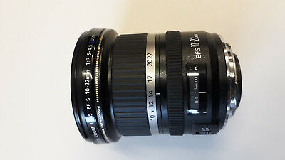 Canon EF-S 10-22mm f/3.5-4.5 USM Lens (FAULTY WILL NOT ZOOM)