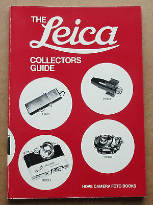 The Leica Collectors Guide Hove Camera Foto Books 1St Edition 2Nd 1976 Like New
