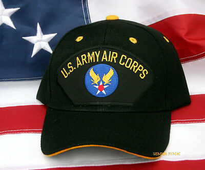 Us Army Air Corps Hat Cap Air Force Ww 2 Wowah Usacc Usaff Pin Up Gift Wing Wow