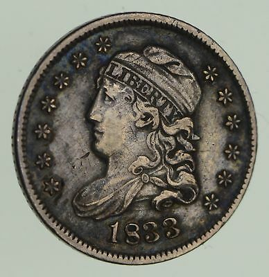 1833 Capped Bust Half-Dime - Circulated *9640
