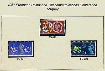 GB stamps 1960s, 70s & 80s