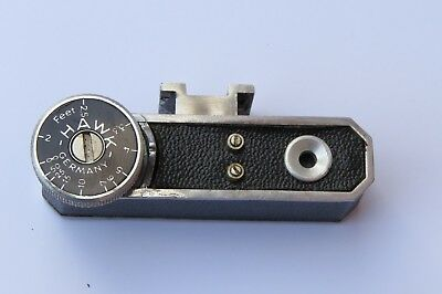 "Vintage ""The Hawk"" Adjustable Range Finder, Good Condition"