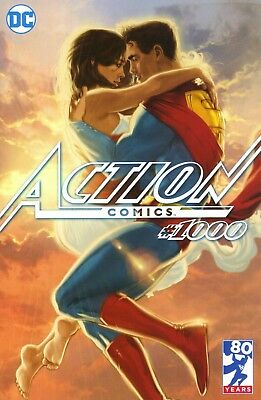 Action Comics # 1000 Third Eye Comics Exclusive  Limited Edition Variant