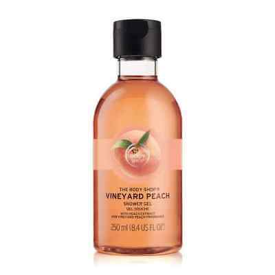 New Vegetarian The Body Shop Vineyard Peach Shower Gel