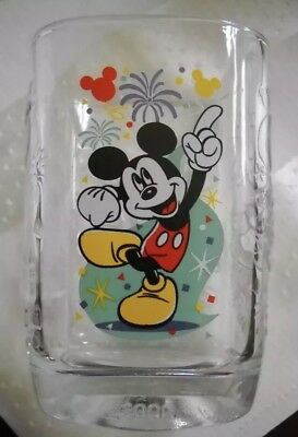 McDonalds/Walt Disney Magic Kingdom Mickey Mouse 2000 Millennium Collector Glass
