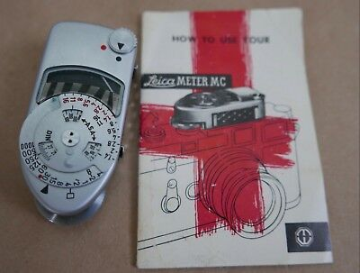 1960's Leica MC Meter For Leica M3, M2, Manual, Works, Germany