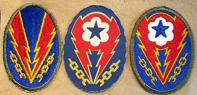 WWII European Theater of Operations Patch - Three Variations
