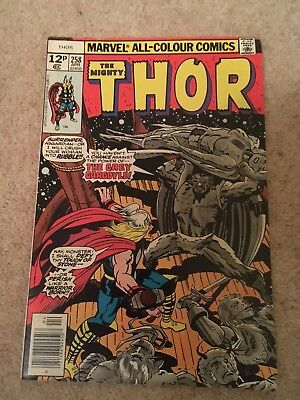 The Mighty Thor #258 Marvel Comics Group