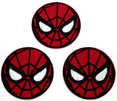 """Spider-Man 1.5"""" Mini-Patches - Set of 3 - Mailed from USA (SMPA-MP01)"""
