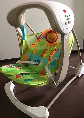 fisher price 2 in 1  Babyschaukel Automatik Baby Wippe