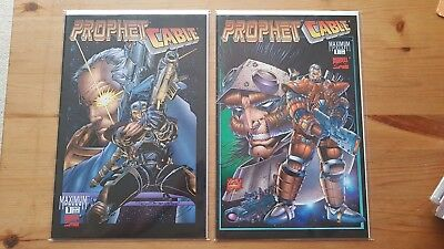 Marvel Prophet Cable Issue 1 both Variants  series ROB LIEFELD Complete