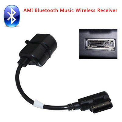 Car Bluetooth Wireless Module Radio Stereo AUX Cable Adapter For Audi Trim Part