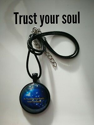 Code 399 Trust your soul's inner guidance Infused necklace For The Man Christmas