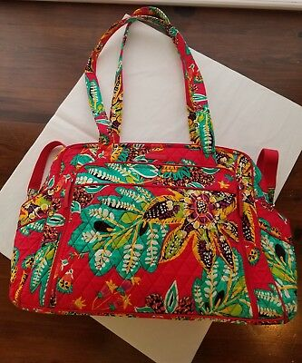 Vera Bradley Large Stroll Around Baby Diaper Bag in Rumba Retired NWOT