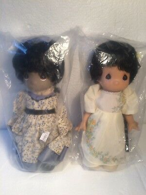Precious Moments Features Cory & Mazie From Children of the World Girls Doll 9""