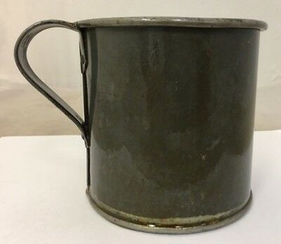 Original US Army M1885 Tin Plated Cup Marked US