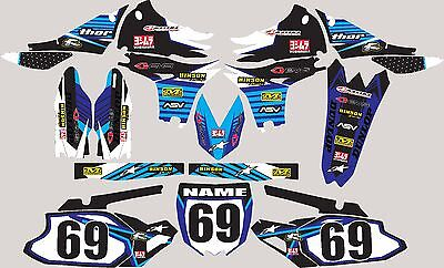 Graphics for 2003-2005 Yamaha YZ250f 450f YZF 250 450 Decal fender sticker