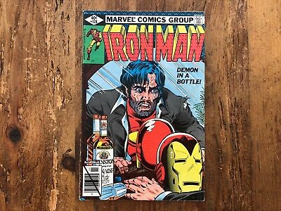 IRON MAN #128 Demon In A Bottle 1979 Marvel CLASSIC KEY ISSUE Stark Alcoholic *