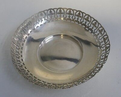 Whiting Mfg. Co. Sterling Silver Open Work Bowl - Model Number 9117