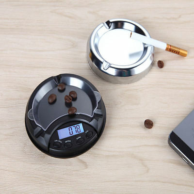 Ashtray Pocket Scales 0.01g Mini Digital Weight Electronic Gold Jewelry Weighing