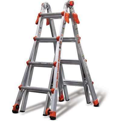 Little Giant Ladder Systems 17' Type IA Aluminum Multi Position Ladder(Open Box)